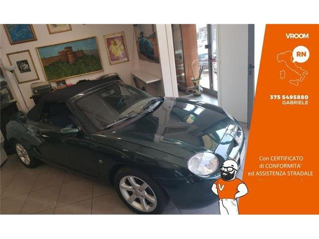 MG MGF 1.8i cat Stepspeed